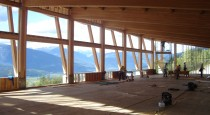 Glulam Timber's frame